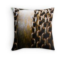 Chained In Throw Pillow