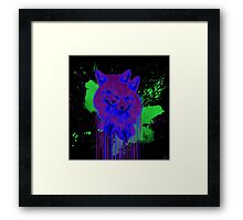 Psychedelic Foxes  Framed Print