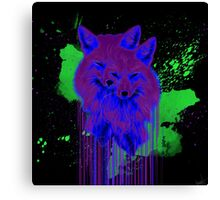 Psychedelic Foxes  Canvas Print