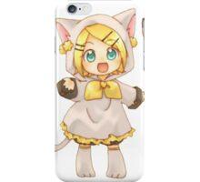 Cute Kagamine Rin and Len Neko Chibi iPhone Case/Skin