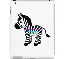 Fight Like A Zebra - Ehlers Danlos Syndrome Awareness iPad Case/Skin