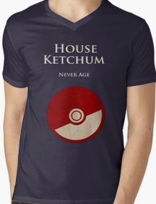 House Ketchum  Mens V-Neck T-Shirt