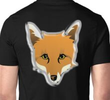 FOX, Foxy, Fox Face, Foxface, Wildlife, Urban Fox, Nature, Dog Unisex T-Shirt
