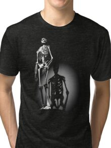 human anatomy t-shirt, human skeleton Tri-blend T-Shirt