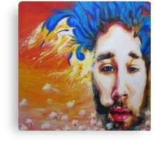 Mike Johnston Heady Convo's with Jimmy EP Album Cover Canvas Print