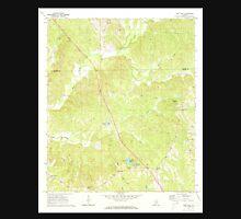 USGS TOPO Map Alabama AL Fort Dale 303865 1971 24000 Unisex T-Shirt
