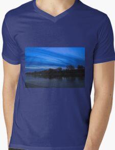 River Blues Mens V-Neck T-Shirt