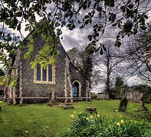St Peter's Churchyard by Nigel Bangert