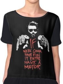 If we're gonna have fun... Chiffon Top