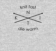 Knit Fast Die Warm Unisex T-Shirt