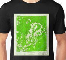 USGS TOPO Map Alabama AL Pollard 304876 1960 24000 Unisex T-Shirt