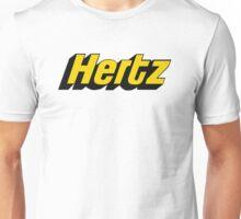 hertz logo tour  Unisex T-Shirt
