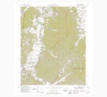 USGS TOPO Map Alabama AL Bishop 303257 1950 24000 Kids Tee