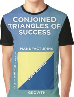 Conjoined Triangles of Success Graphic T-Shirt