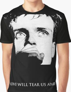 Ian Curtis - Love Will Tear Us Apart Graphic T-Shirt