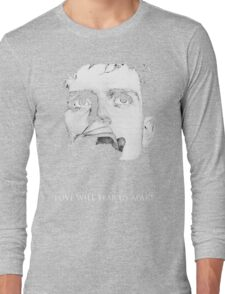 Ian Curtis - Love Will Tear Us Apart Long Sleeve T-Shirt
