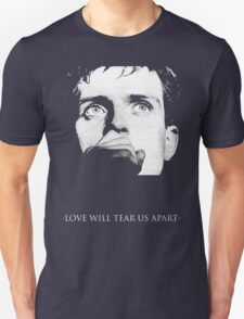 Ian Curtis - Love Will Tear Us Apart T-Shirt