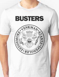 GHOSTBUSTERS / RAMONES White Tee T-Shirt