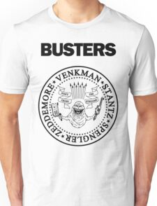 GHOSTBUSTERS / RAMONES White Tee Unisex T-Shirt