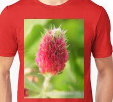 Crimson Clover on the Prairie Unisex T-Shirt