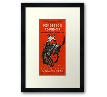 Wallace Smith Rodeo Poster Framed Print