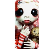 Christmas Fairy with Gingerbread Man iPhone Case/Skin