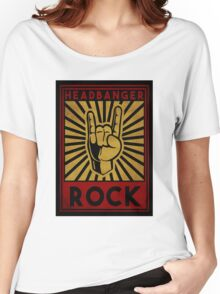 Headbanger  Women's Relaxed Fit T-Shirt