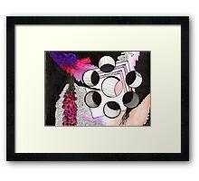 Trumpet Flowers  Framed Print