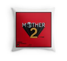 Mother 2 aka Earthbound Japanese Cover Art Throw Pillow