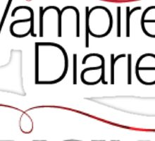 The vampire diaries and the originals  Sticker