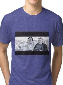 Curb Your Enthusiasm, Larry David and Jeff Garlin Tri-blend T-Shirt