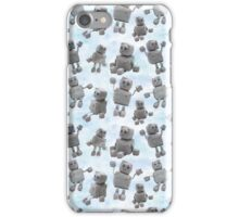 Ruby the Robot (blue) iPhone Case/Skin