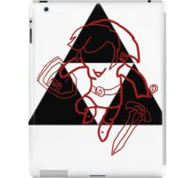 red link iPad Case/Skin