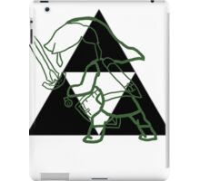 green link  iPad Case/Skin