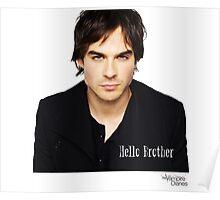 The vampire diaries Damon Salvatore  Poster