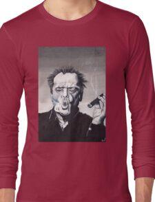 Jack Nicholson Smoke Ring Long Sleeve T-Shirt