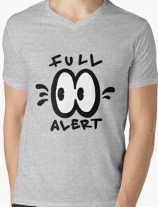 Full Alert Mens V-Neck T-Shirt
