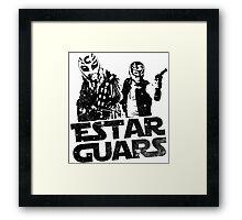 Estar Guars Framed Print