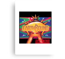Earthbound aka Mother 2 North American Cover Art Canvas Print