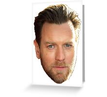 Ewan McGregor Greeting Card