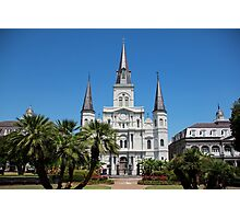 St. Louis Cathedral Photographic Print