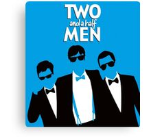 TWO AND A HALF MEN 2 Canvas Print