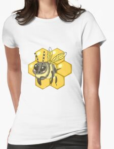 Buzzy Bee Womens Fitted T-Shirt