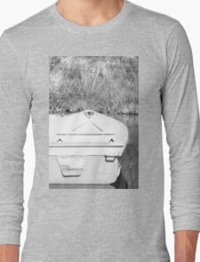 Smooth Sailing - Black and White Long Sleeve T-Shirt