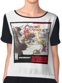Chrono Trigger Cover Art Chiffon Top
