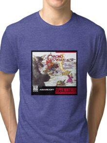Chrono Trigger Cover Art Tri-blend T-Shirt