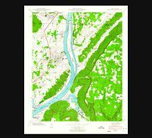 USGS TOPO Map Alabama AL Bridgeport 303334 1945 24000 Unisex T-Shirt