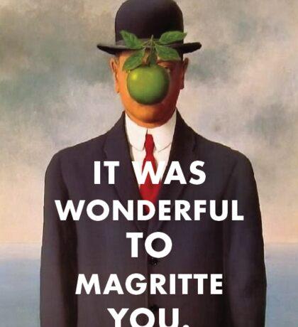 Rene Magritte Valentine Sticker