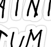 chaining tatum Sticker