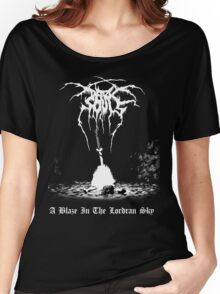 A Blaze in the Lordran Sky Women's Relaxed Fit T-Shirt